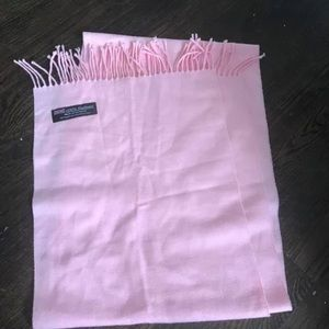 Accessories - 100% Cashmere pink scarf !